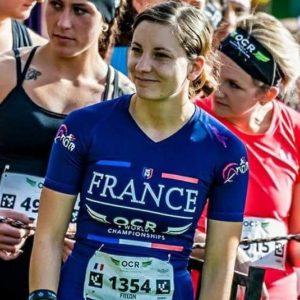 Athlète Aroo Ocr Crew Melanie Fillon