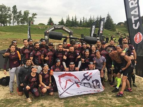 Aroo Spartan race Carcassonne