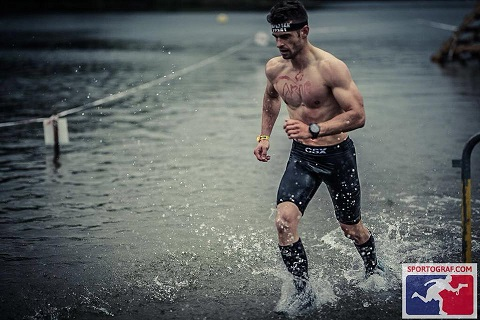 Mathieu Beaudry Spartan race Carcassonne