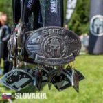 Medaille Spartan Race Slovaquie