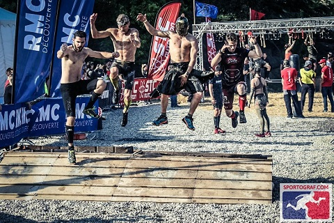 Team Aroo Ocr Crew Spartan race Carcassonne